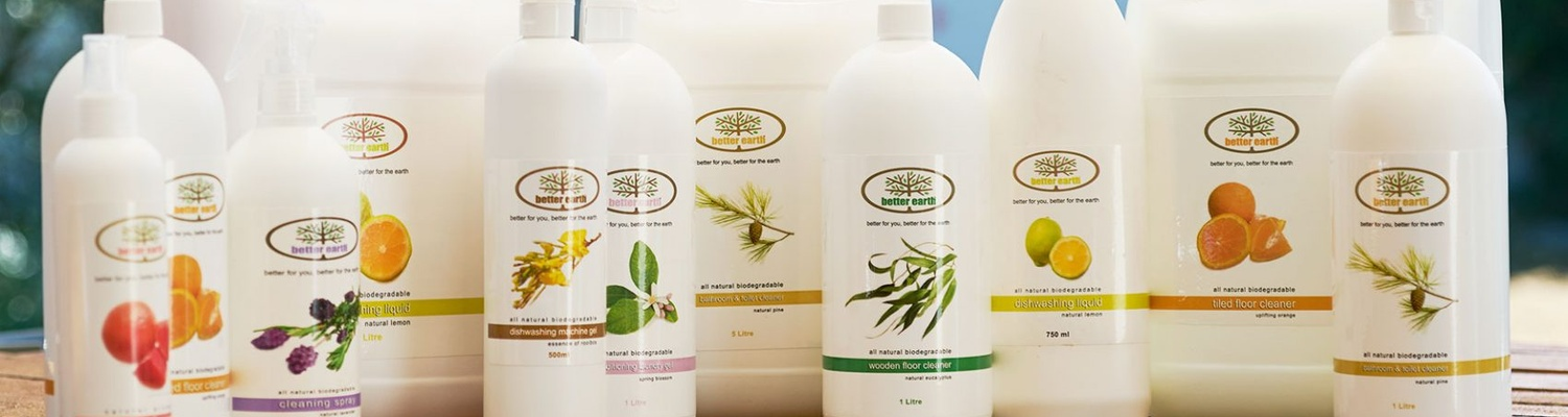 Better Earth Cleaning Products